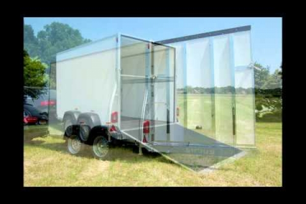 Sirius Trailers G305 with side door