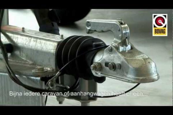 Uitleg over de breekkabel bij aanhangwagens en caravans